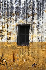 The sentence (Pulpolux !!!) Tags: house abandoned wall facade mexico town particular more aged sometimes peel absolute