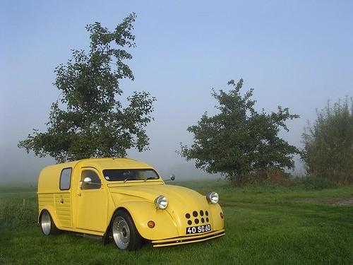 2cv camionnette custom