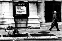 A SENSE OF OUTRAGE 1990 (URBAN PHOTOS) Tags: poverty nyc homeless