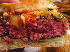 Burgers & Cupcakes (Adam Kuban) Tags: nyc newyorkcity ny newyork chelsea manhattan burger hamburgers cheeseburger burgers gross hamburger nyccuisine innards cheeseburgers eighthavenue west23rdstreet ahamburgertoday aht rawbeef grilledonions ahamburgertodaycom burgerscupcakes burgercrosssections