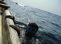 snorkel ([s e l v i n]) Tags: india tourism beach fun snorkel kerala adventure travelindia touristspots kovalambeach selvin indiantourism indiantour ©selvin selcollage selvinkurian