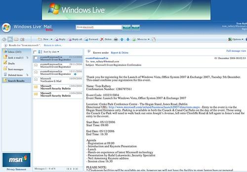 Windows Live (Hot)Mail
