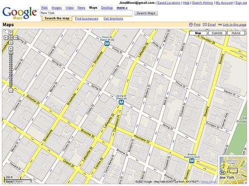 Google Maps 3D - New York