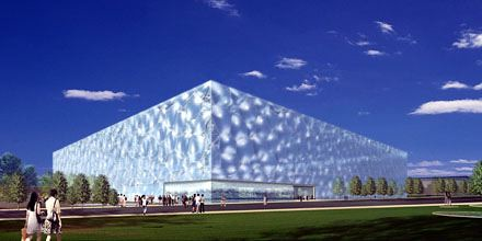 National Swimming Center-Beijing, China