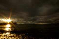 my way home... (dolcedo) Tags: sky sun clouds austria ray bregenz bodensee sunbeam lakeofconstance vorarlberg dolcedo irresistiblebeauty superbmasterpiece