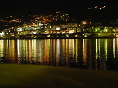 Mykonos at night - by caffeine_obsessed