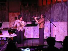 Lisa Cella and Jane Rigler at Technosonics VII