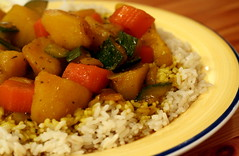 Potato and Vegetable Curry