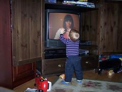 I can get REALLY close to you! (LizaWasHere) Tags: noah baby funny dancing karencarpenter closetoyou richardcarpenter carpentersfan