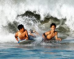 Da 094 . La Jojojola (WakamouL) Tags: sea smile mexico fun mar surf wave oaxaca zicatela guacamole sonrisa ola gp puertoescondido diversion ltytr1 gpcomdeportes