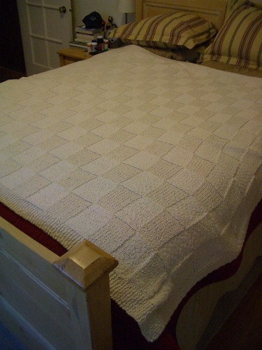 finished wedding blanket