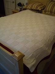 #52 - finished wedding blanket