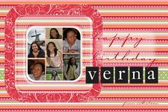Verna's bday postcard, study 1