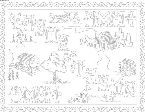 Patrones Para Bordar a Mano Gratis Dibujos Para Bordar a Mano