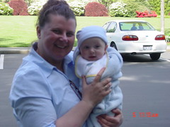 5 months old with Grandma H (meadowsgrove) Tags: boy big such