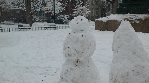A Snowlady