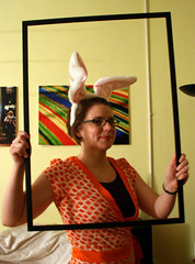 Who framed Kate Rabbit?