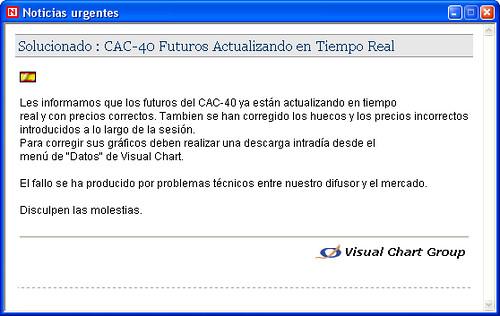 Problemas resueltos operativa en CAC40 10h14m