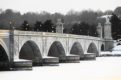 Memorial Bridge - After the Snow2 - by Carl_C
