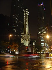 The Water Tower (Martin Stocks) Tags: travel chicago watertower immigration movingtochicago