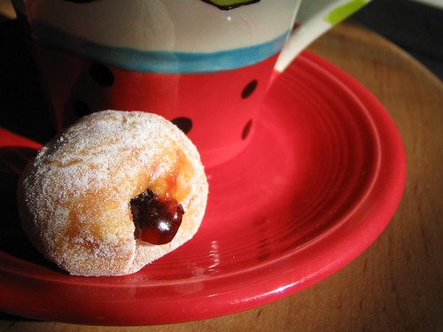 Tiny Jelly Doughnut...