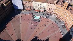 扇形廣場-Siena的地標