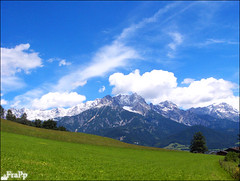 Austria alb mountains (Essa Al-Sheikh - @Bo3awas) Tags: sky music mountains salzburg austria see am spring time sound kuwait alb zell q8 frapp kuw of sallfelden