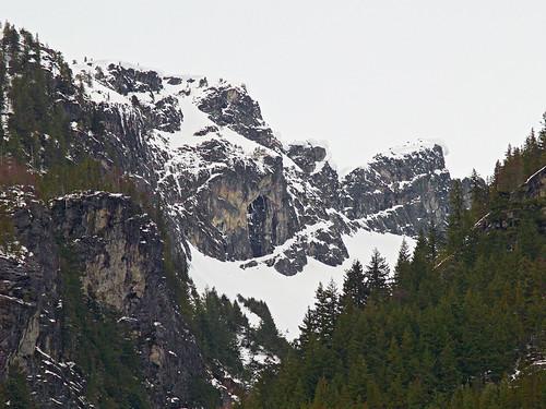 North Cascades at Gorge Creek Falls