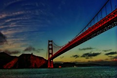 SFO (Karnevil) Tags: sanfrancisco california bridge sunset usa water scenic goldengatebridge sanfranciscobay flickrsbest colorphotoaward superaplus aplusphoto