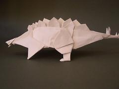 Kawahata Stegosaurus (sage_82) Tags: origami fantasy stegosaurus kawahata