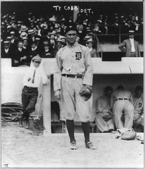 No Known Restrictions: Baseball: Ty Cobb from George Grantham Bain Collection, 1914 (LOC)
