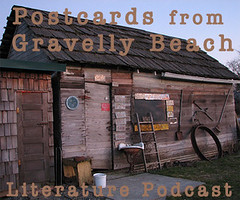 Postcards from Gravalley Beach shed in Pe Ell