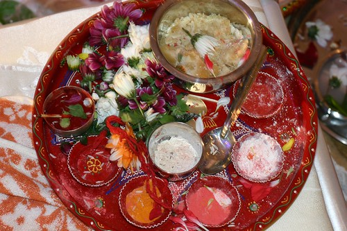 Tray of rituals by Tejal Patel, on Flickr