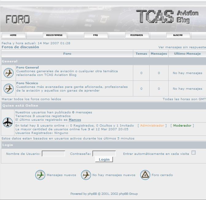 Foro TCAS