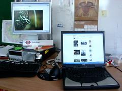 730 days (tompagenet) Tags: desktop 2 two work mouse office pc keyboard flickr ipod calendar desk anniversary laptop flickrversary tfl 2years transportforlondon twoyears 172buckinghampalaceroad