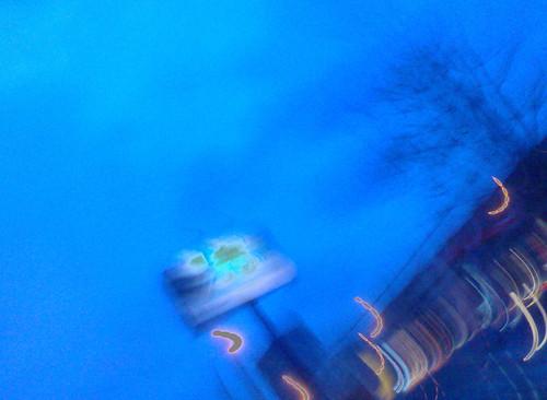 Billboard blue