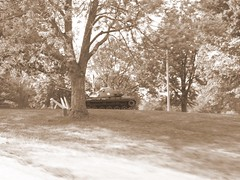 Tank in the Park (shannonpatrick17) Tags: midwest nebraska orchard nebraskacity johnbrown arborday arborlodge jsterlingmorton mayhewcabin