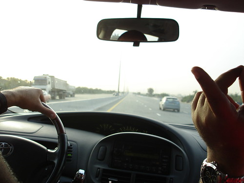 Driving to the DDRF 2007