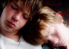 Brotherly Love (Kirsten M Lentoft) Tags: vacation bus boys topc25 children brothers sleep dream topv222 instantfave momse2600 kirstenmlentoft