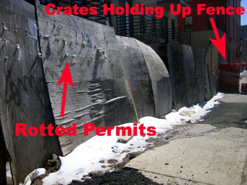 Lorimer Street Crates and Permits