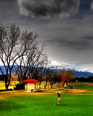 Patty Jewett Golf Course (iceman9294) Tags: sky clouds golf colorado coloradosprings pikespeak chriscoleman abigfave iceman9294