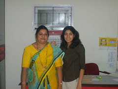 Jayashree and me (shellysehra) Tags: shelly shellysehra