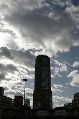 Tower of Shibuya (sandman_kk) Tags: sky tower hotel tokyu