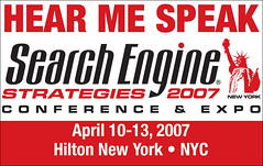 Hear Me Speak Badge, SES NYC 07