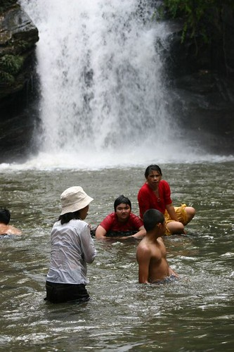 Mae Wang waterfall