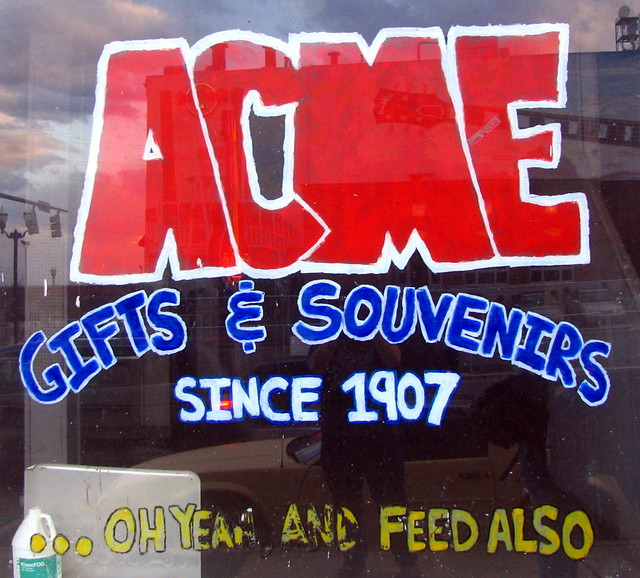 Acme gifts and souvenirs