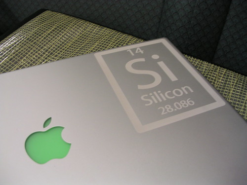 Another Angle - MacBook Pro Laser Etching