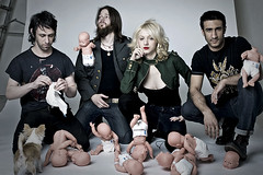 Babyrama (Rekanyari) Tags: portrait music musicians photoshop canon studio weird punk dolls babies play song band bodylanguage manipulation story artists singer narrative songwriter boysandgirls rockgroup
