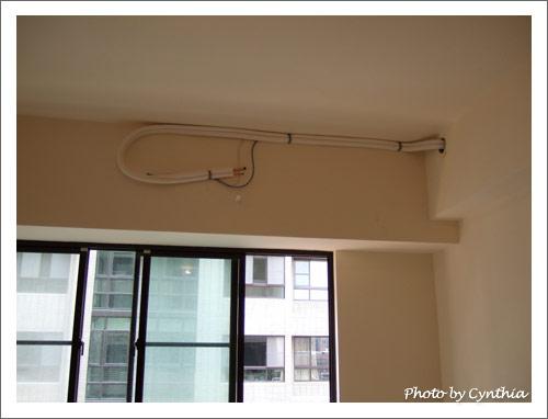 客廳的空調管線
