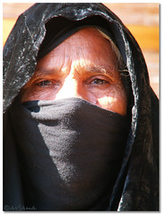 Woman in Egipt (aviana2) Tags: she light portrait people woman black face female eyes day expression picture hijab slovenia frame modesty niqab sinai egipt 1on1peoplephotooftheday 6millionpeople odsev aviana2 fotocompetition fotocompetitionbronze